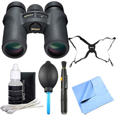 7579 Monarch 7 Binoculars 8x30 Explorer Bundle