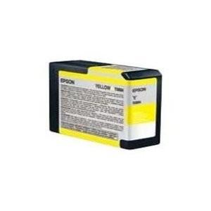 Yellow UltraChrome K3 Ink Cartridge (80ml) for Stylus 3800