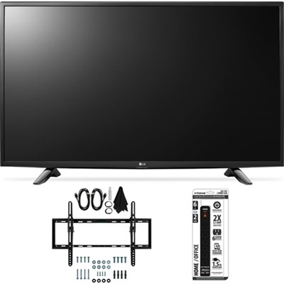 49LH5700 49-Inch Full HD Smart LED TV Flat + Tilt Wall Mount Bundle
