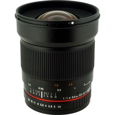24mm F/1.4 Aspherical Wide Angle Lens for Olympus 4/3