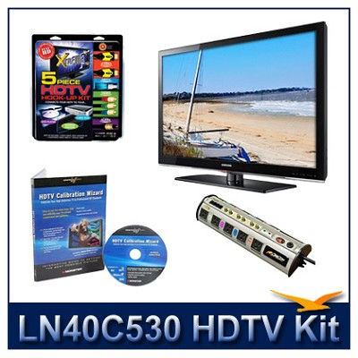 LN40C530 - HDTV + High-performance Hook-up Kit + Power Protection + Calibration