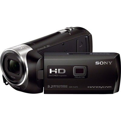 HDR-PJ275/B Full HD 60p Camcorder w/ built-in Projector - OPEN BOX