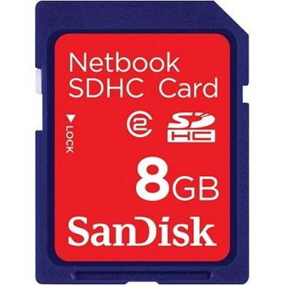 8GB Netbook SDHC Memory Card