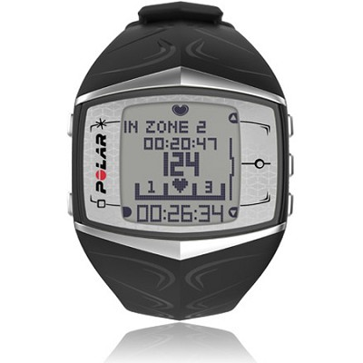 FT60 Heart Rate Monitor - Black/White (90036405)