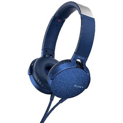 XB550AP Extra Bass On-Ear Headphone, Blue (2017 model)