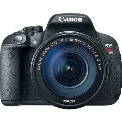 EOS Rebel T5i 18MP SLR Camera with 18-135mm STM Lens