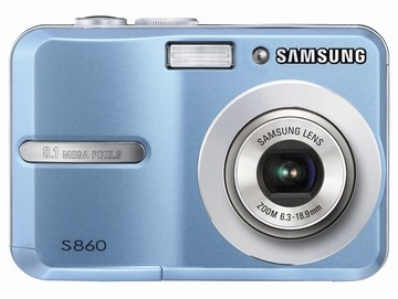 S860 8MP 2.4` LCD Digital Camera (Blue)