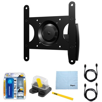 Premium Series Full-Motion Mount For 13`-39` Flat-Panel TV w/ Accessory Kit