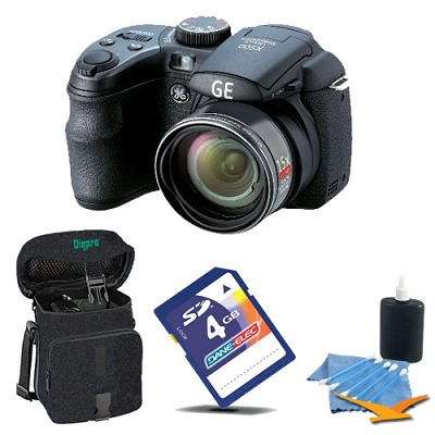 Power Pro X550-BK 16 MP with 4GB Camera Bundle (Black)