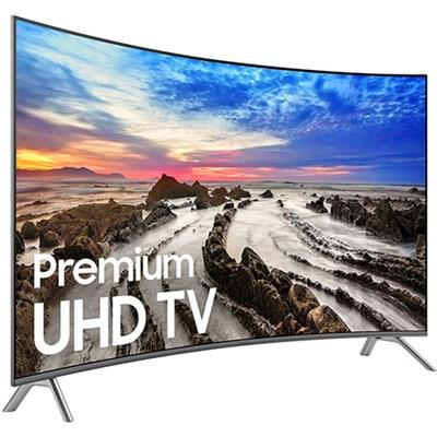 UN65MU8500FXZA 64.5` Curved 4K Ultra HD Smart LED TV (2017 Model) - Refurbished