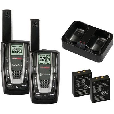 CXR725 Walkie-Talkie microTalk 27-Mile 22-Channel Two-Way Radio