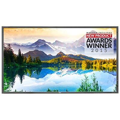 E905, 90'' 1080p Full HD LED-Backlit LCD Flat Panel Display, Black