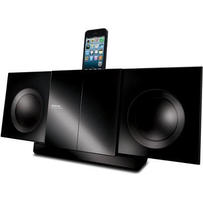 50w Bluetooth Audio Slim Micro System iPhone/iPad/iPod Dock (Black) - DKKP85P
