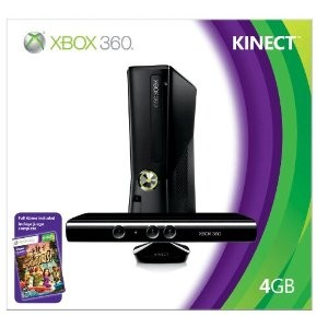 Xbox 360 4 GB Console with Kinect - OPEN BOX
