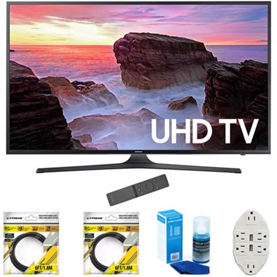 50` 4K Ultra HD Smart LED TV 2017 Model with Cleaning Bundle