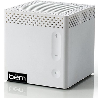 Bluetooth Mobile Speaker for Smartphones White Manufacturer Refurbished