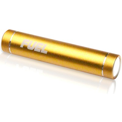 FUEL Active Mobile 2000 mAh Battery w/ LED Flashlight - Gold (PCPA20001GL)