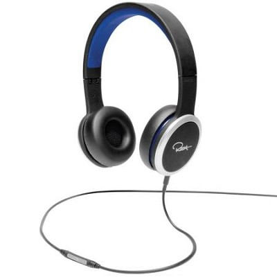 Chambers by RZA Street On-Ear Headphones - Black/Blue