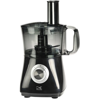 8-Cup Black Food Processor