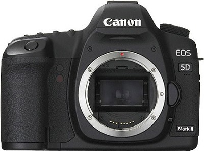 EOS 5D Mark II 21.1MP Full Frame CMOS Digital SLR Camera (Body Only)