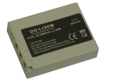 Li-30B Lithium Battery for Olympus Stylus Verve
