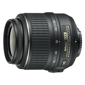18-55mm f/3.5-5.6G VR AF-S DX Nikkor Zoom Lens - OPEN BOX