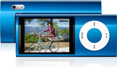 iPod Nano 5th Generation 8GB MP3 Player - Blue REFURBISHED