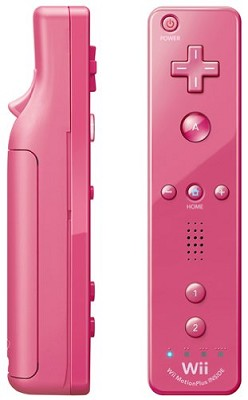 Wii Remote Plus  (Pink - Newest Model)
