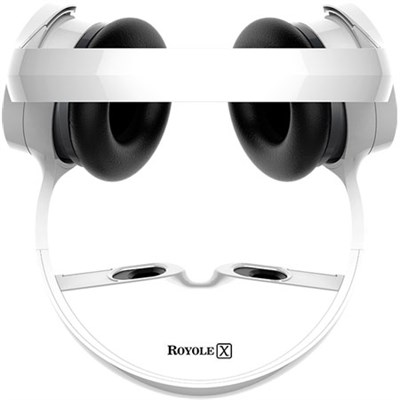 X The World's First Virtual Mobile Theater (White) - OPEN BOX