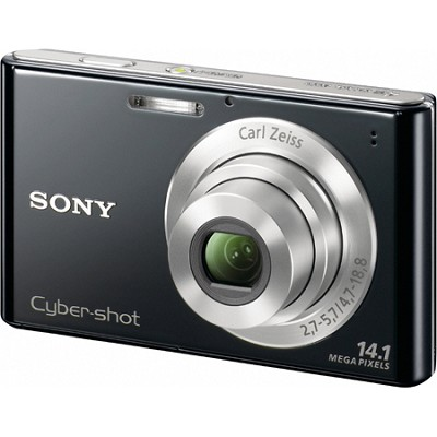 Cyber-shot DSC-W330 14MP Black Digital Camera - Open Box