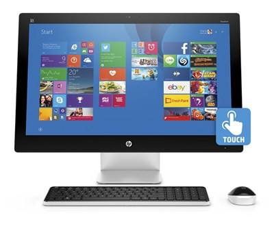 Pavilion 23-q010 23` AMD A8-7410 All-in-One Touchscreen Desktop