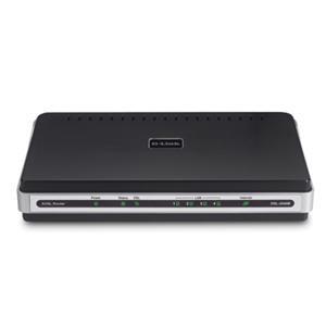 DSL-2540B ADSL2/2+ Modem with 4-Port Ethernet Router TR067/069