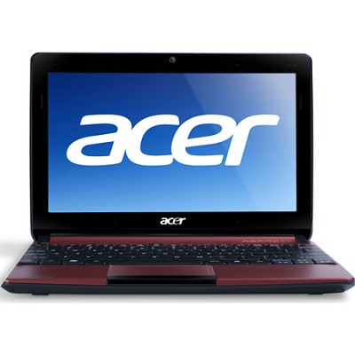 Aspire One AOD257-1489 10.1`(Red) - Intel Atom Proc Dual-Core N570 - OPEN BOX