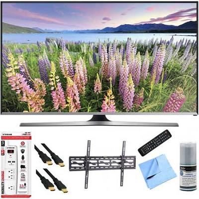 UN48J5500 - 48-Inch Full HD 1080p Smart TV Plus Tilt Mount Hook-Up Bundle
