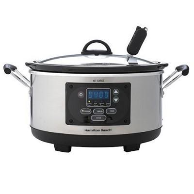 33966 6 Qt. Programmable Slow Cooker