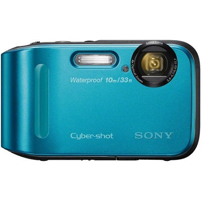 Cyber-shot DSC-TF1 16 MP 2.7-Inch LCD Waterproof Digital Camera - Blue