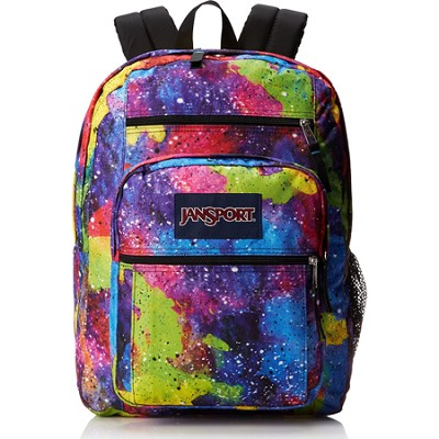 Big Student Backpack - Multi Neon Galaxy (TDN7)