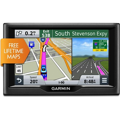 nuvi 57LM 5 inch GPS Navigation System with Lifetime Map Updates