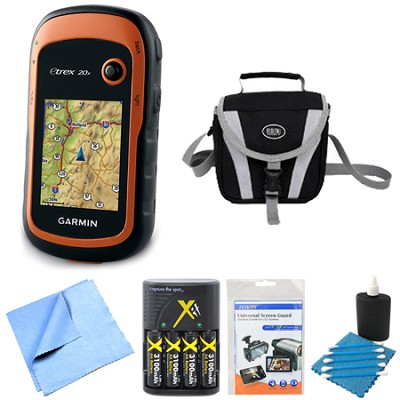 010-01508-00 - eTrex 20x Handheld GPS Battery Bundle
