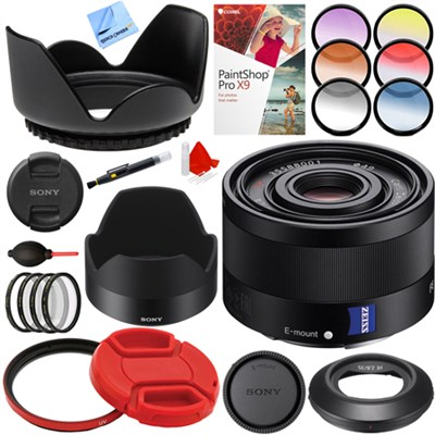 Sonnar T* FE 35mm F2.8 ZA Full Frame Camera E-Mount Lens Bundle
