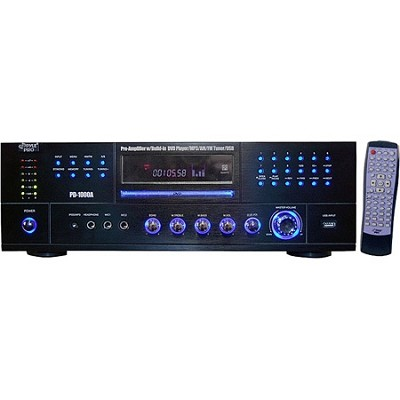 PD1000A 1000-Watt AM-FM Receiver with Built-in DVD/MP3/USB