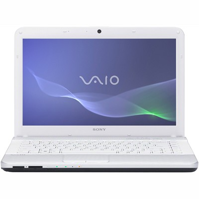 VAIO VPCEG23FX - 14.0` Laptop Core i3-2330M (White)