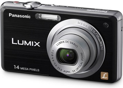 DMC-FH3K LUMIX 14.1 Megapixel Digital Camera (Black)