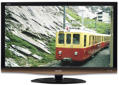 LC52E77UN - AQUOS 52 inch HD 1080p 120Hz LCD TV - REFURBISHED
