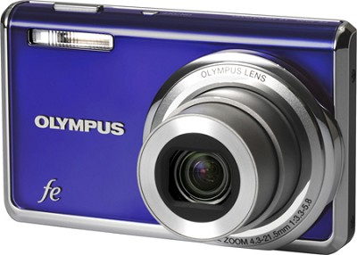 FE-5020 12MP Digital Camera w/ 5x Wide Angle Opt Zoom, 2.7 inch LCD (Blue)