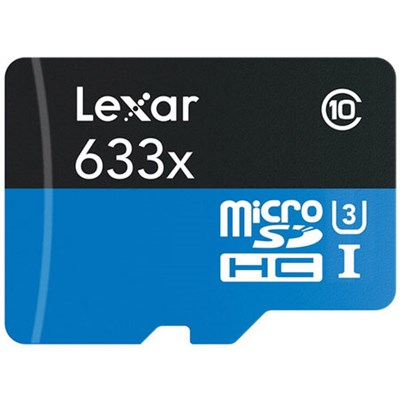 High-Performance 633x 32GB microSDHC/microSDXC UHS-I Card