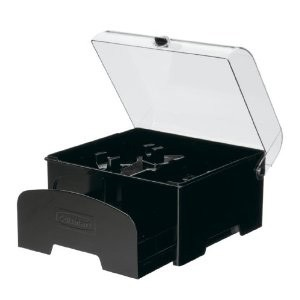Elite Collection Accessory Storage Case for 12-Cup Food Processors (Black)