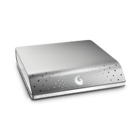 FreeAgent Desk 1 TB USB 2.0 External Hard Drive (Silver) - OPEN BOX
