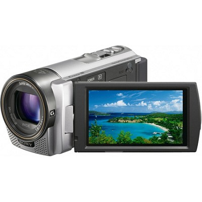 HDR-CX130 Handycam Full HD Silver Camcorder w/ 30x Optical Zoom