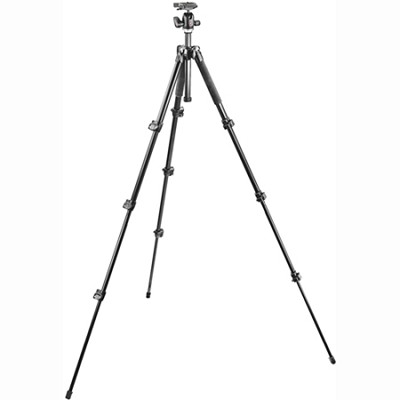 293 Aluminum Kit, Tripod 4 sections with Ball Head QR (MK293A4-A0RC2)
